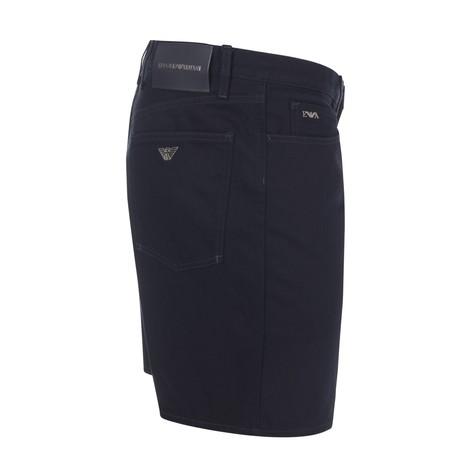 Emporio Armani Denim Bermuda Shorts