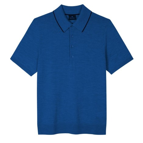 PS Paul Smith Marl Merino Wool Polo Shirt