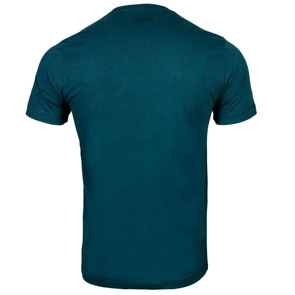 True Religion Small Arch Logo T-Shirt Blue