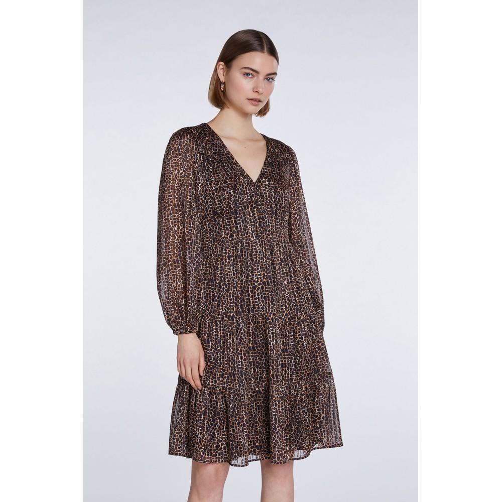 Set Dress Animal Print