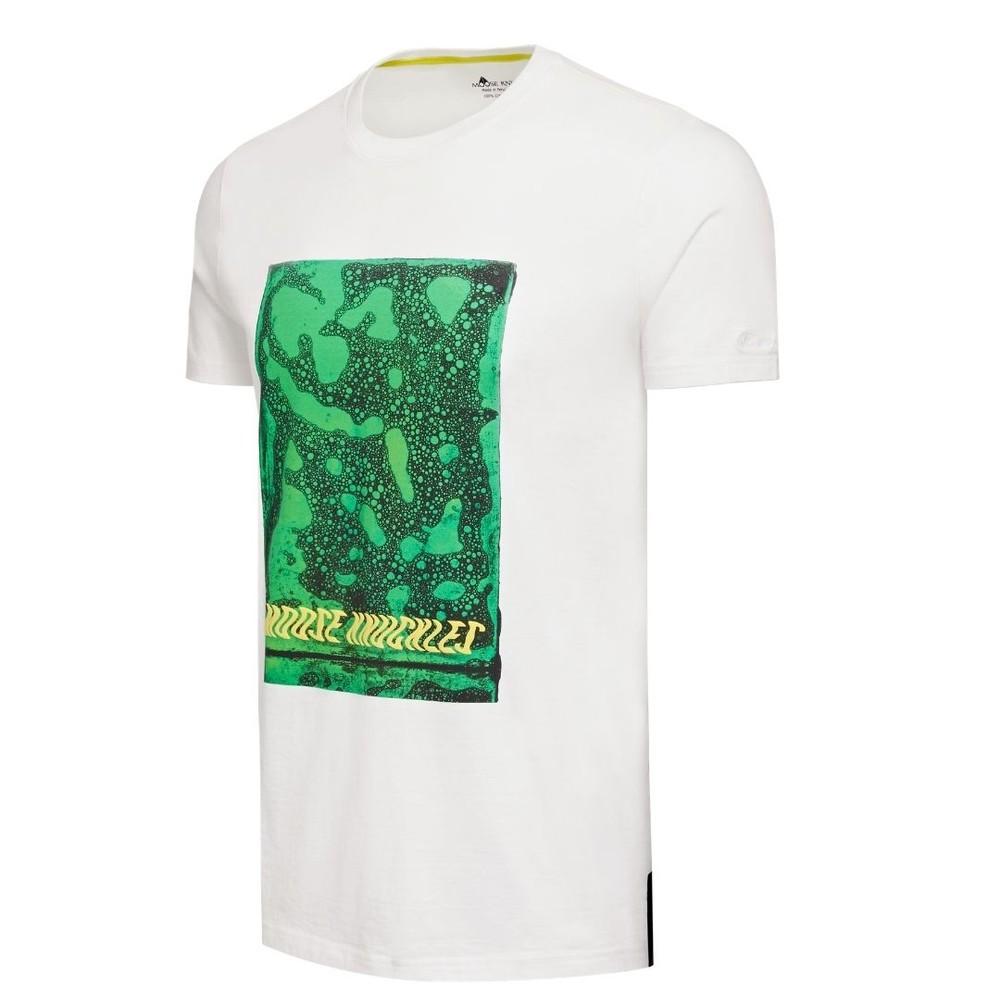 Moose Knuckles Foto Negative T-Shirt White