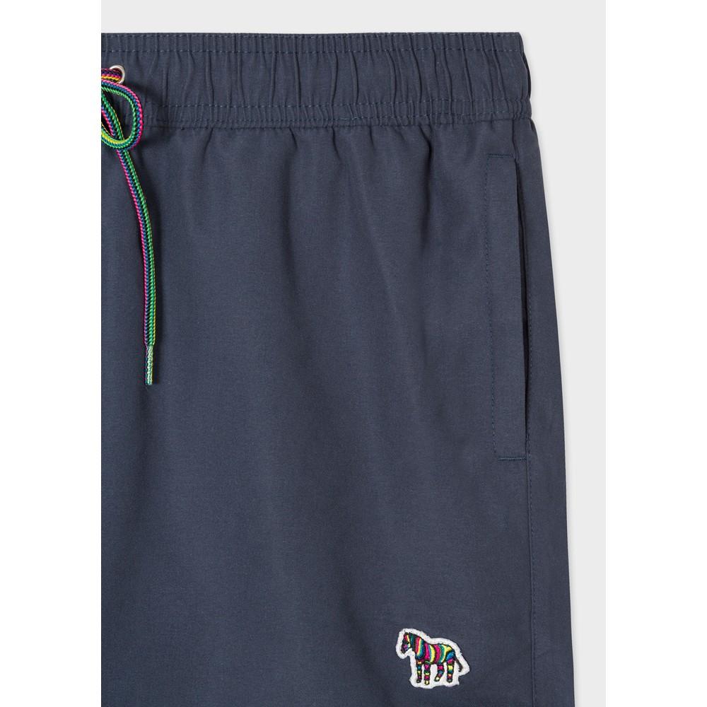 Paul Smith Zebra Logo Swim Shorts Navy