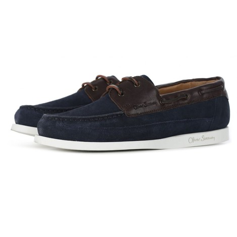 Oliver Sweeney Lufton Suede Boat Shoe