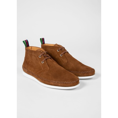 PS Paul Smith Suede 'Neon' Boots