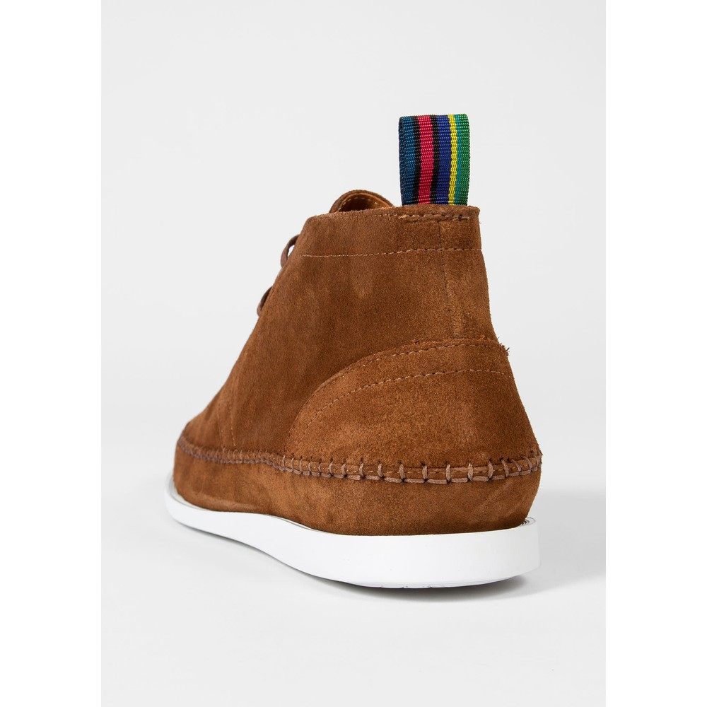 PS Paul Smith Suede 'Neon' Boots Tan