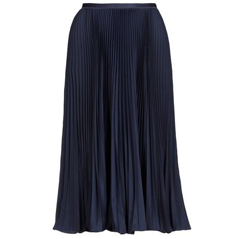 Ralph Lauren Womenswear Rese Skirt Navy