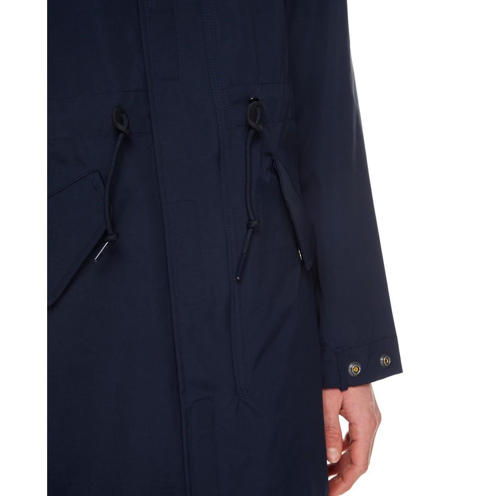Ralph Lauren Womenswear Newport Windbreaker Aviator Jacket Navy