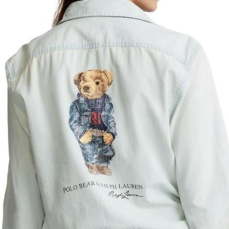 Ralph Lauren Womenswear Long Sleeve Bear Shirt