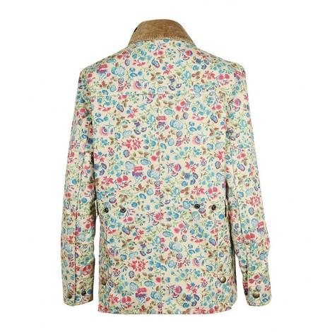 Ralph Lauren Womenswear Floral Waxed Jacket