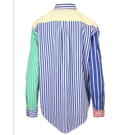 Ralph Lauren Womenswear Multi Stripe Oversized Shirt