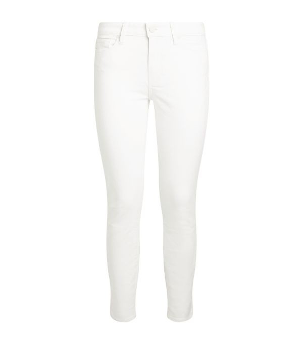 Paige Hoxton Ankle Jeans White