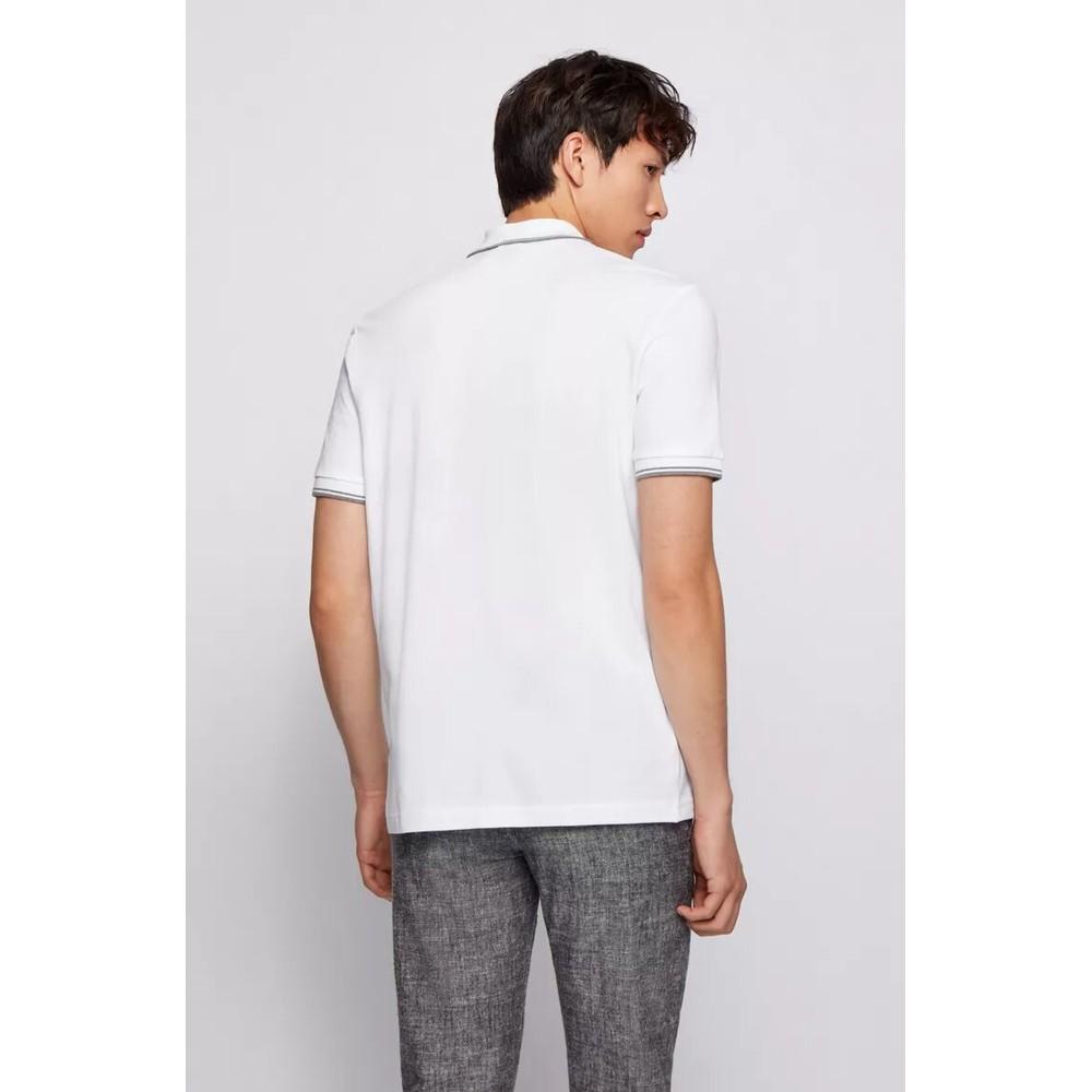 Hugo Boss Pchup Polo Shirt White