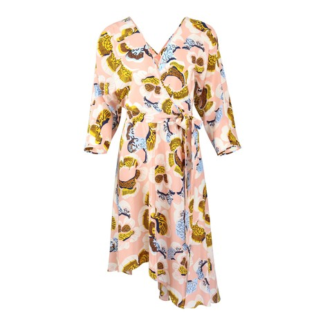DVF Eloise Midi Floral Dress