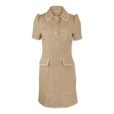 Moschino Boutique Tweed Dress