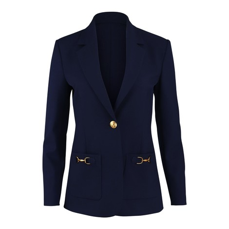 Moschino Boutique Stretch Twill Jacket