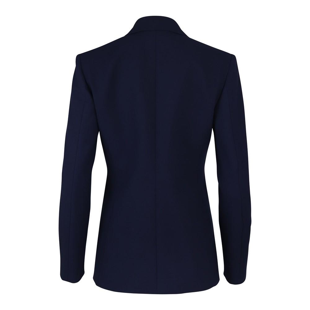 Moschino Boutique Stretch Twill Jacket Navy