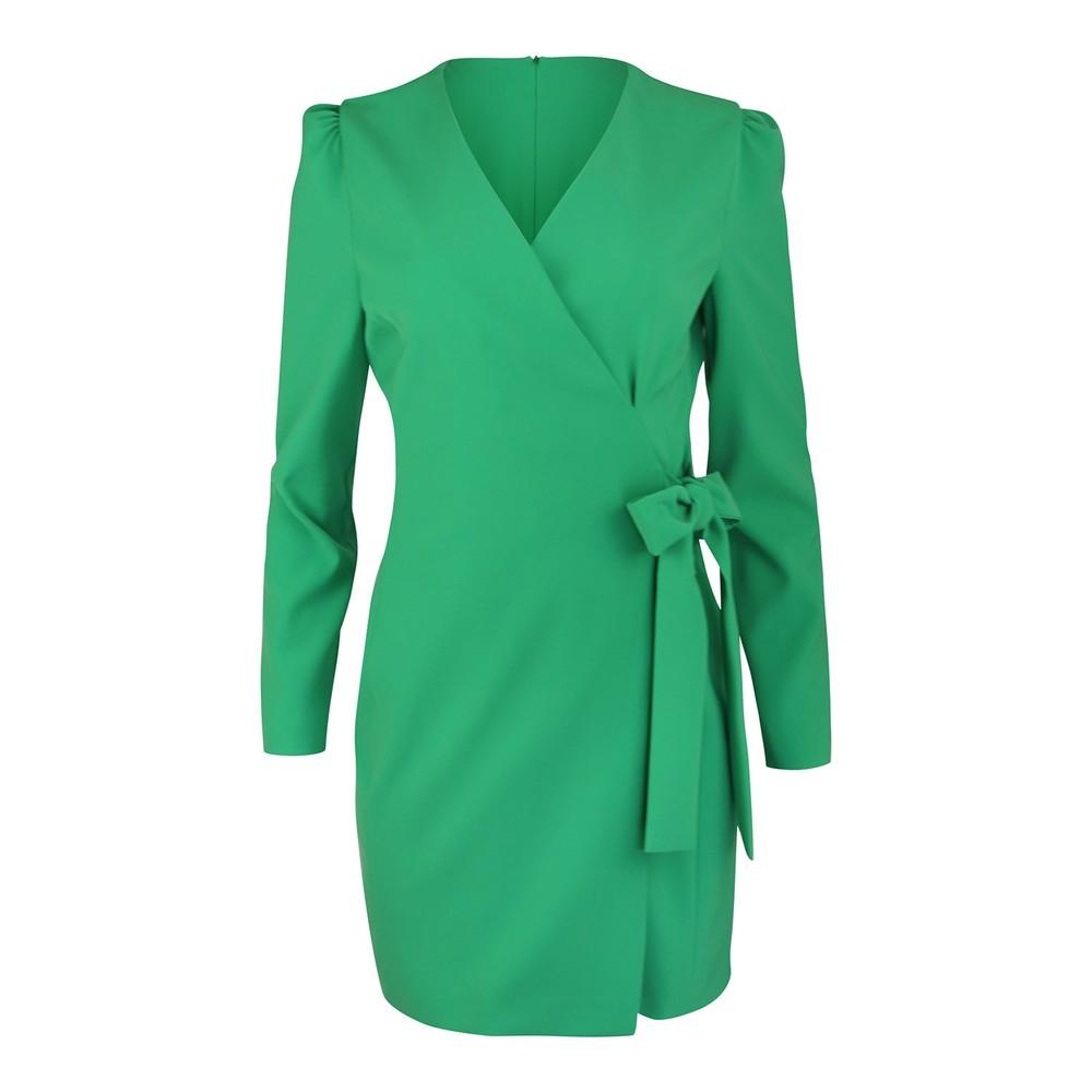 Moschino Boutique Wrap Dress Green