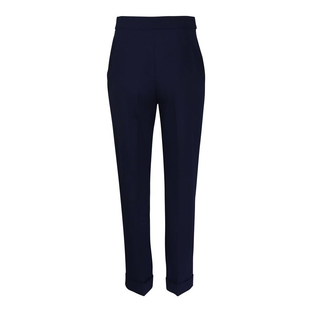 Moschino Boutique Stretch Twill Trousers Navy