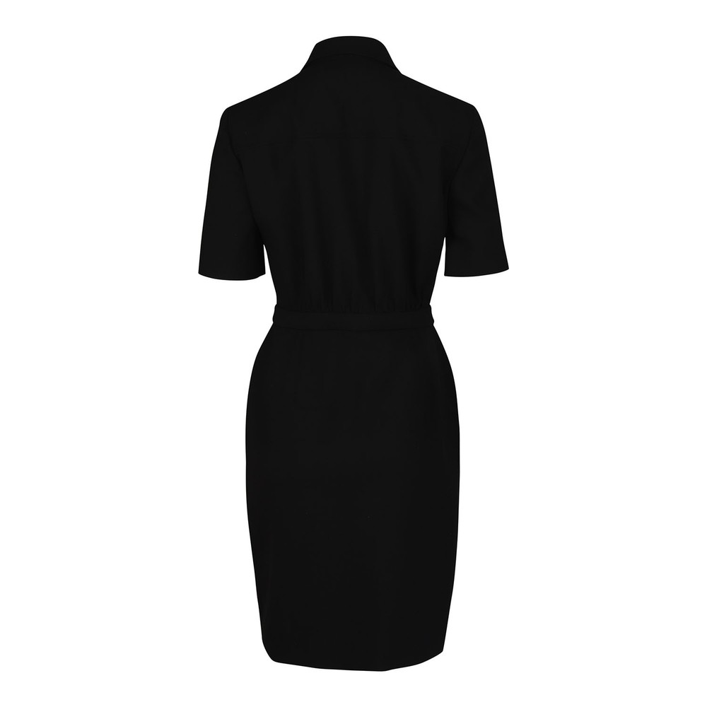 Moschino Boutique Stretch Twill  Dress Black