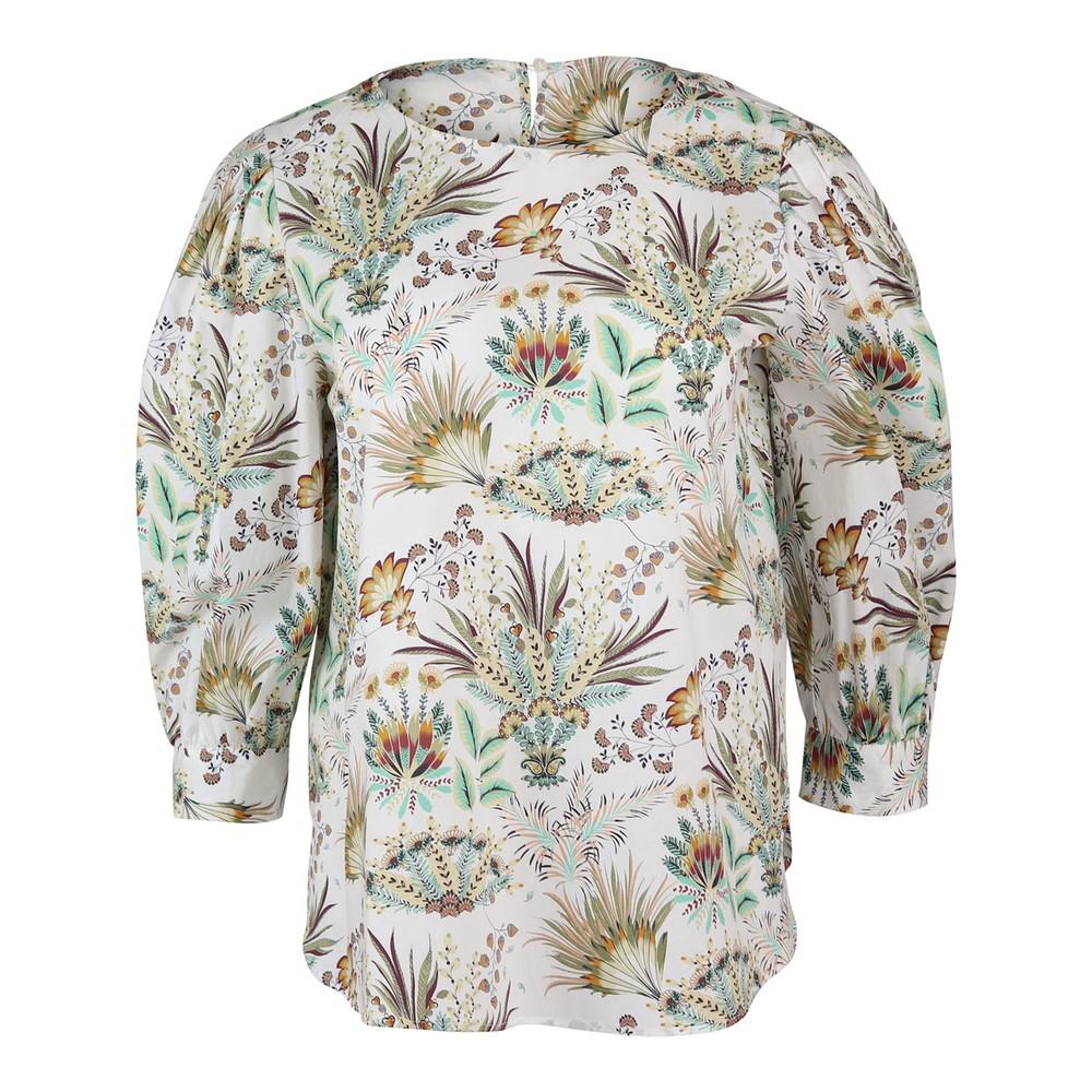 Marella Adamo Puff Sleeve Pattern Top Floral
