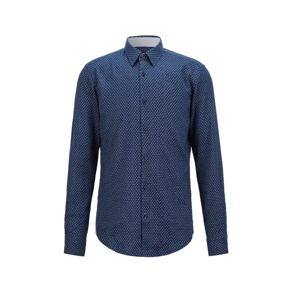 Hugo Boss Black Label Ronni_53F Shirt Dark Blue