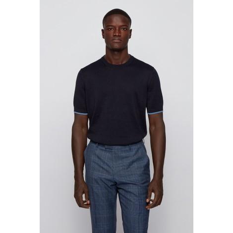 Hugo Boss Persimo Knitted T-Shirt