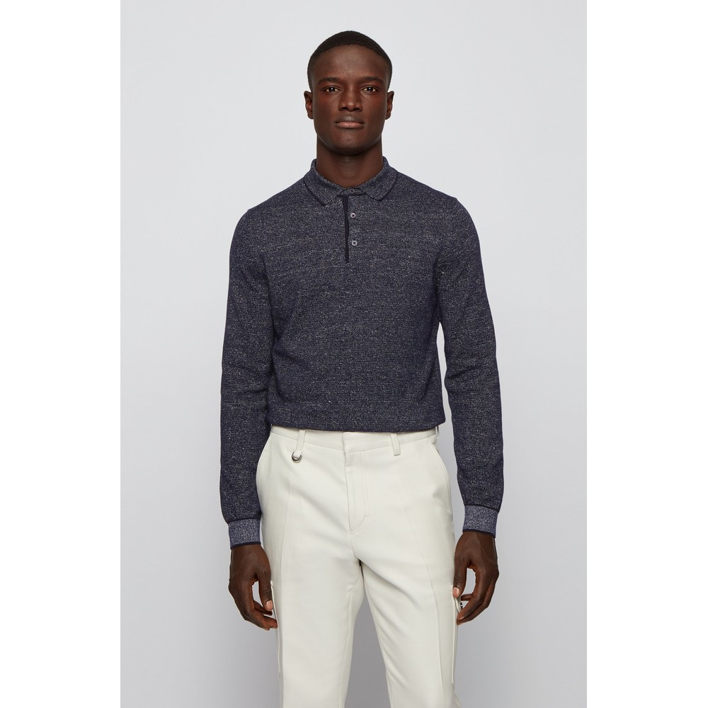 Hugo Boss Paiz Polo Shirt Dark Blue
