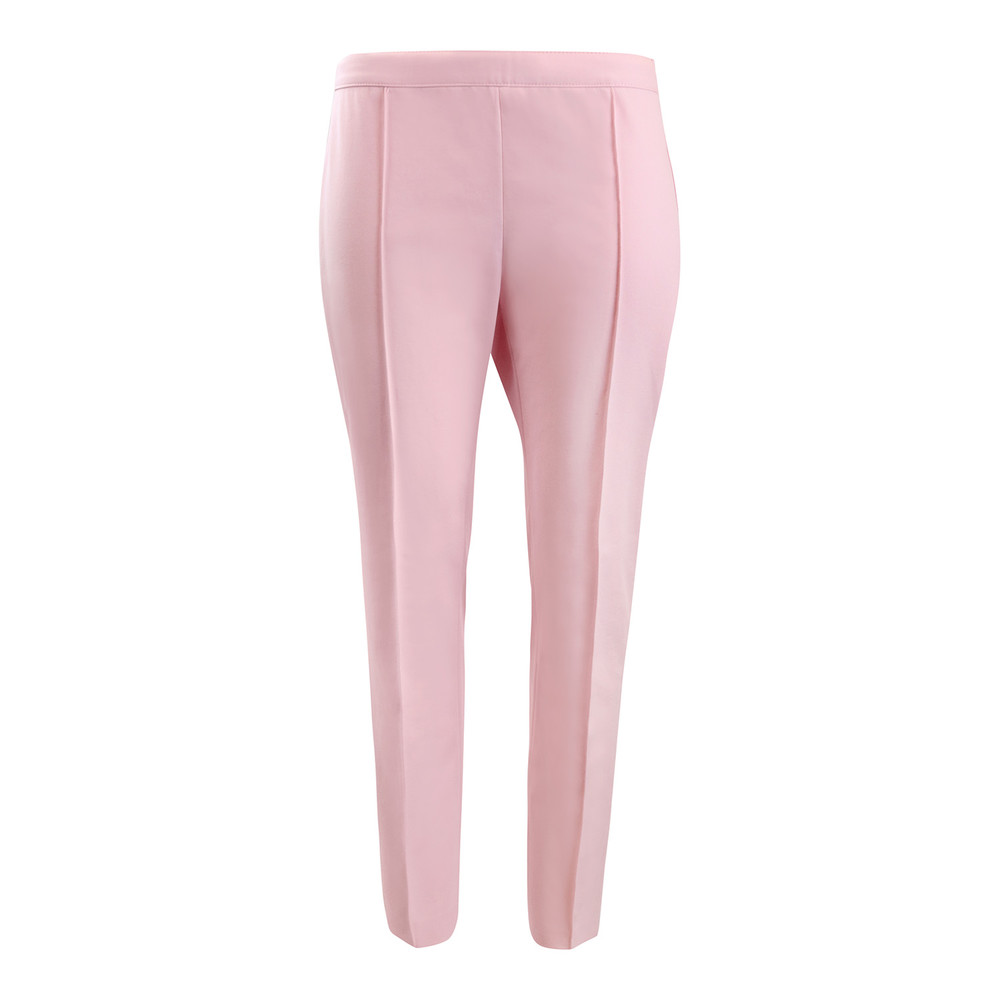 Moschino Boutique Pink Cotton Cropped Trouser Pink