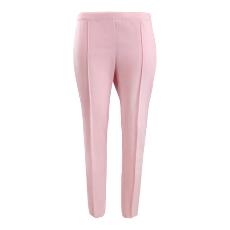 Moschino Boutique Pink Cotton Cropped Trouser