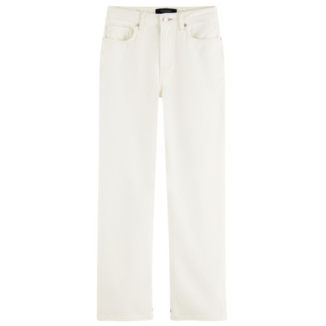 Scotch & Soda Tailored Straight-Fit Cotton jeans