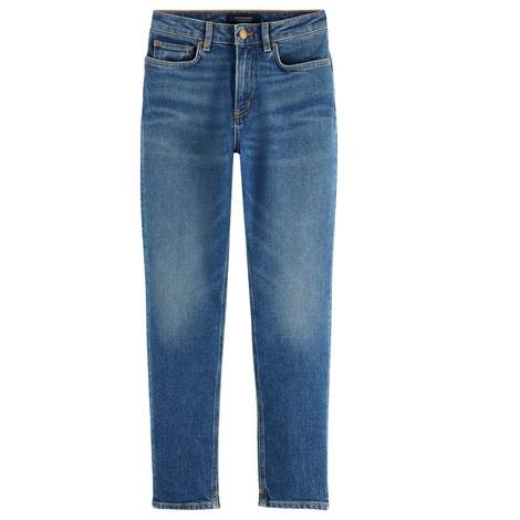 Scotch & Soda High Five High-Rise Slim-Leg Jeans
