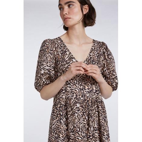 Set Cotton Swirl Print Maxi Dress