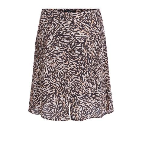 Set Swirl Print Mini Skirt