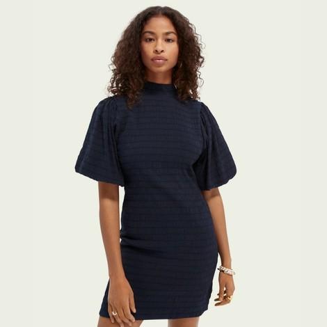 Scotch & Soda Voluminous Sleeved Mini Dress