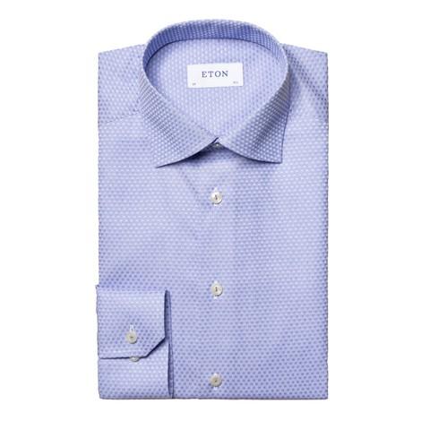 Eton Checked Slim Fit Dobby Shirt