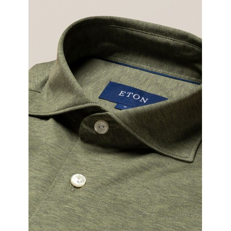 Eton Single Jersey Contemporary Fit Shirt