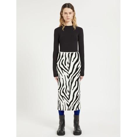 Sportmax Ribes Knit Skirt