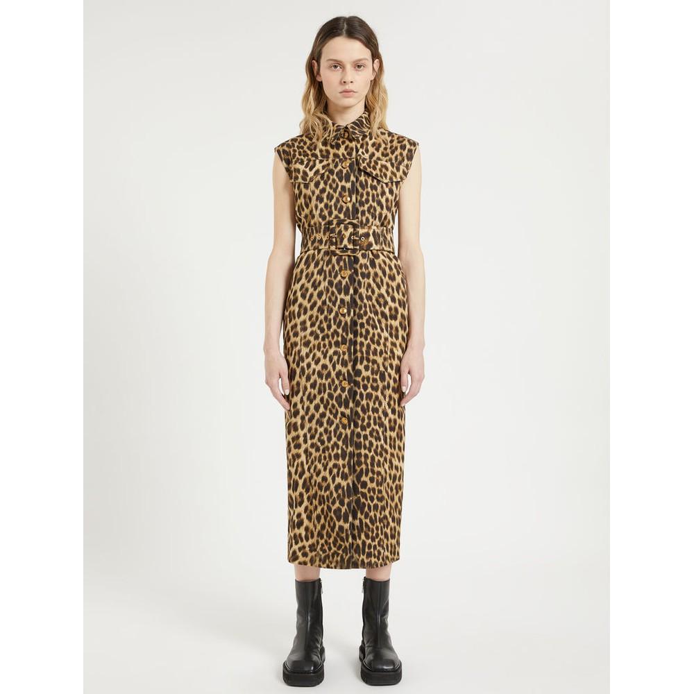 Sportmax Palio Sleeveless Dress Animal Print