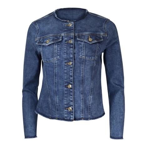 7 For All Mankind Womenswear Slim Illusion Eco Beyond Jacket