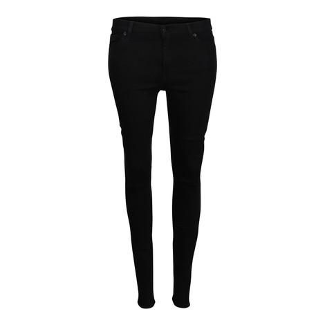 7 For All Mankind Womenswear High Waist Skinny Slim Illusion Luxe Rinsed Jeans