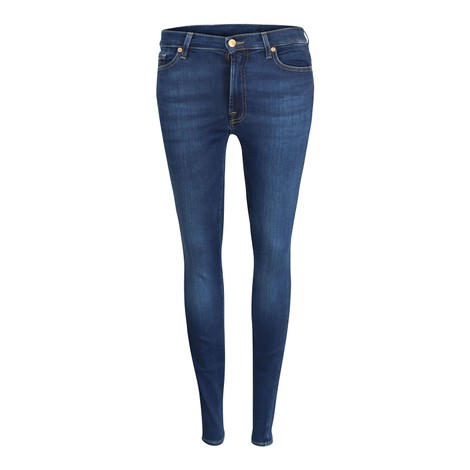 7 For All Mankind Womenswear High Waist Slim Illusion Eco Empower Jeans