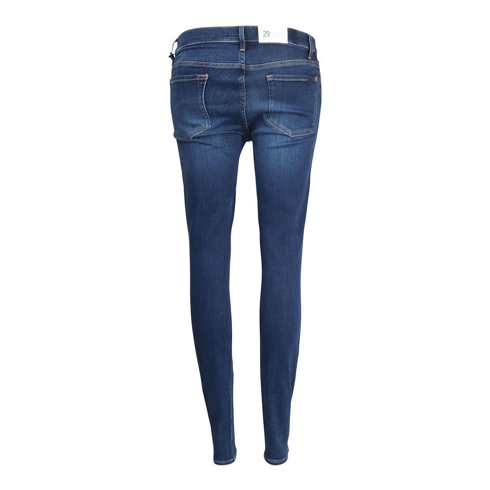 7 For All Mankind Womenswear High Waist Slim Illusion Eco Empower Jeans Dark Navy