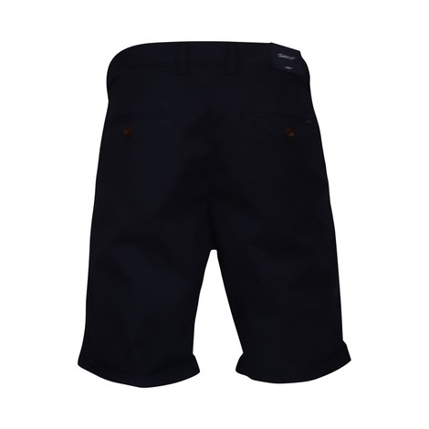 GANT D1. Relaxed Twill Shorts in Navy