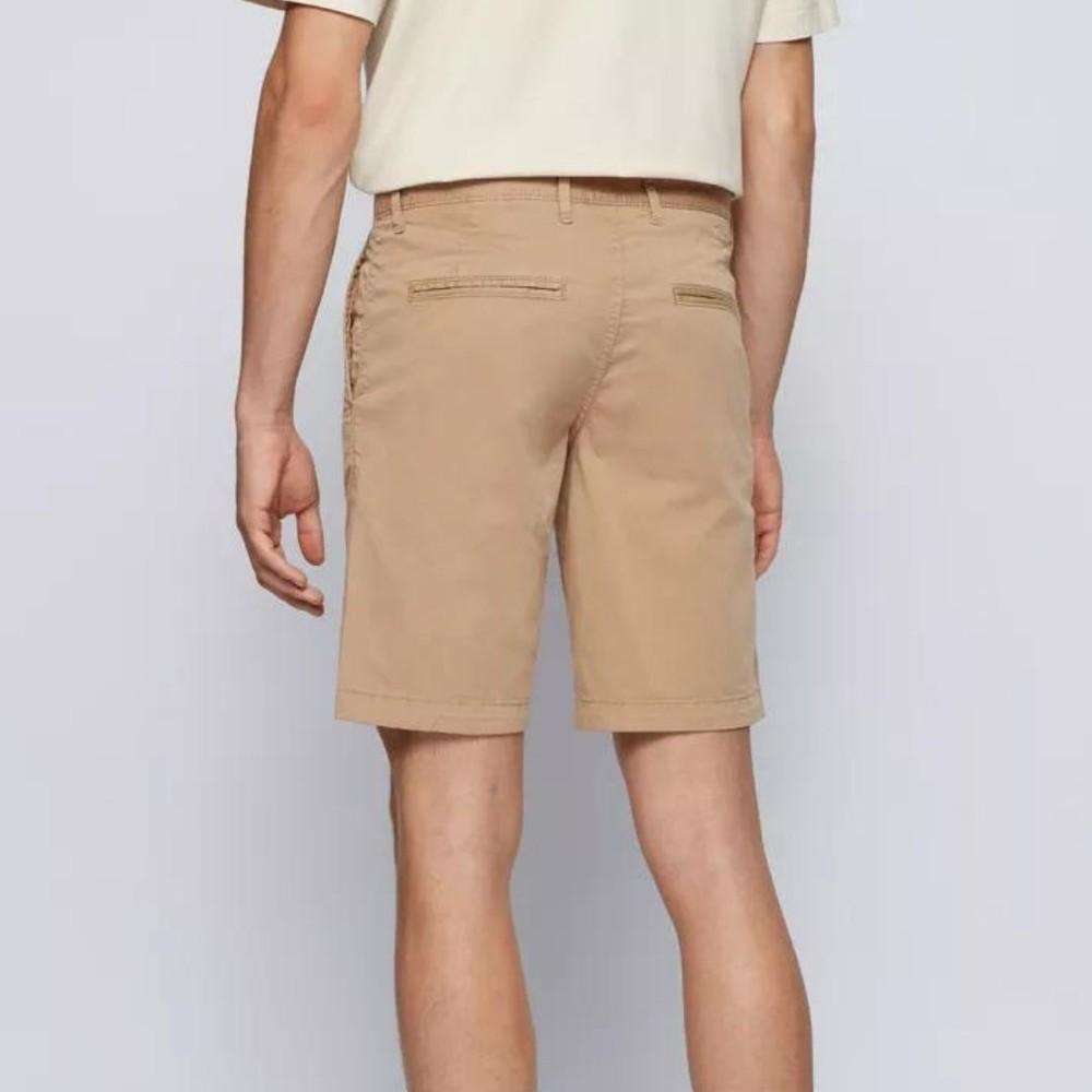 Hugo Boss Schino-Slim Fit Shorts Beige