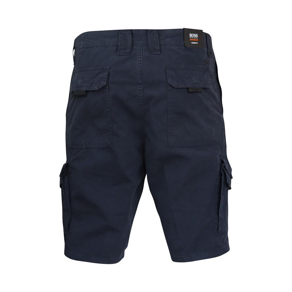 Hugo Boss Sargo Cargo Shorts Navy