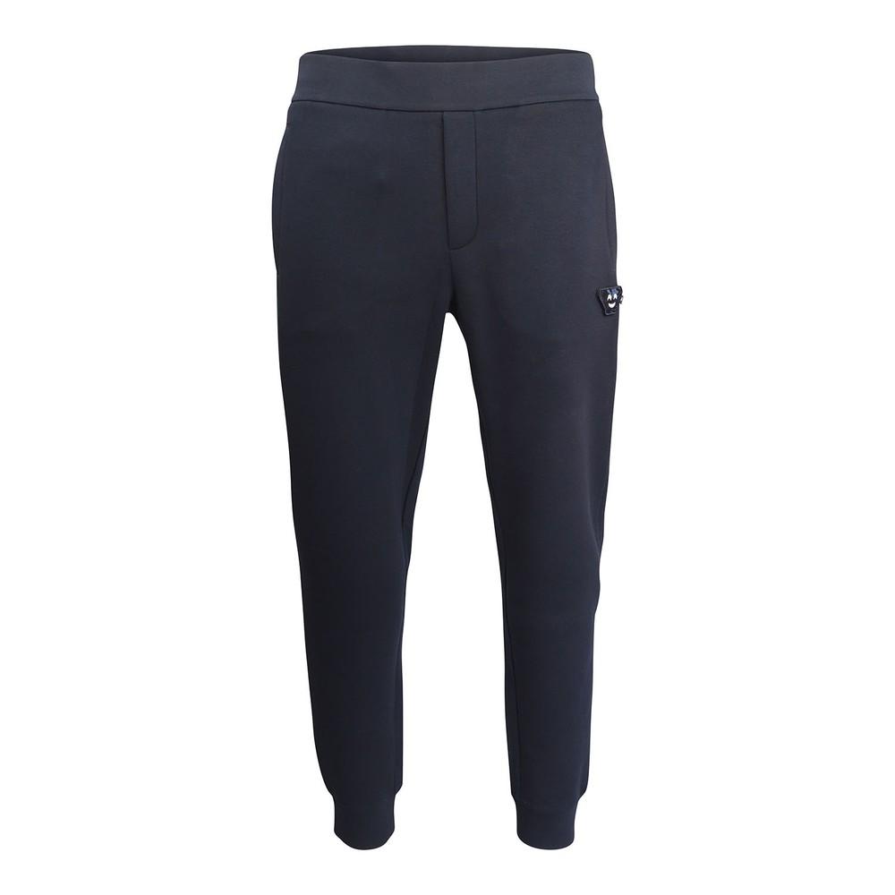 Emporio Armani Sweatpants w/Velcro Badge Navy