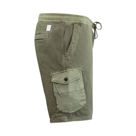 Replay Soft Denim Cargo Shorts
