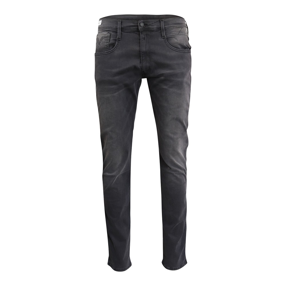 Replay Anbass Hyperflex Re-used Jeans Grey