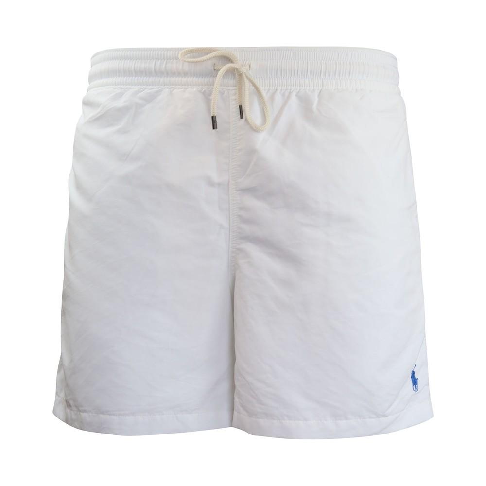 Ralph Lauren Menswear Classic Swim Shorts White