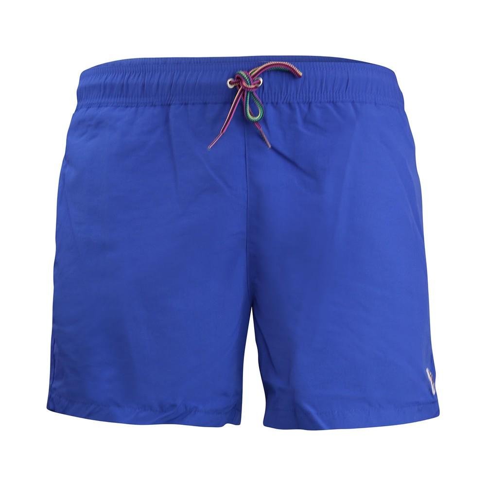 Paul Smith Zebra Logo Swim Shorts Royal Blue